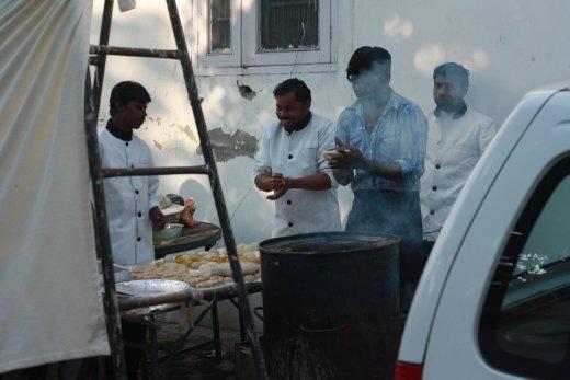Making Roti and Chapati