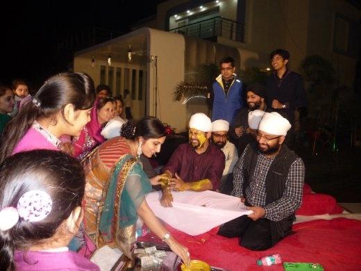 Turmuric ceremony