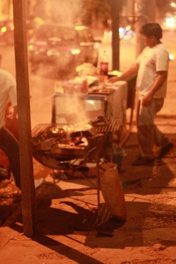 Street Parrilla in Cerrillos