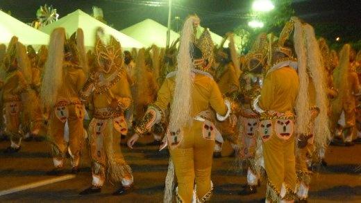Carnaval Parade in Floripa