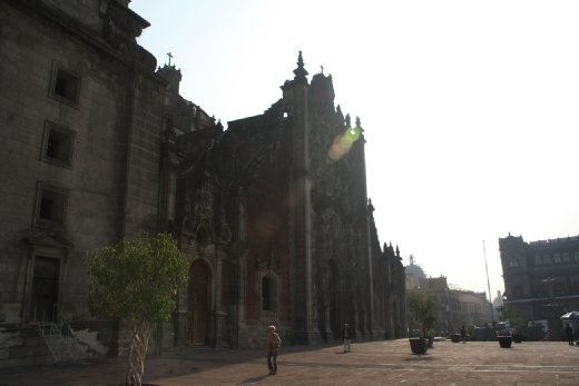 Cathedral of Mexico city