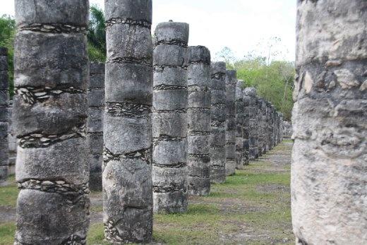 Group of a thousand Pillars, Chichen Itza