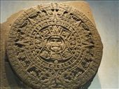 The Sun Stone (Mayan Calander) at Museo Nacional de Antropología : by tk_inks, Views[299]