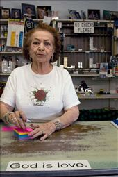 Yolanda Vigil bought the Palace Market in Santa Fe, New Mexico in 1955 form her husband's aunt.