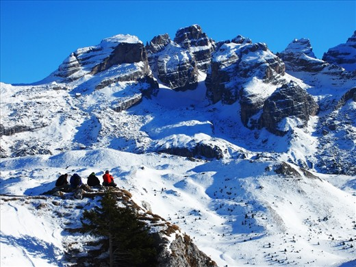 Madonna Di Campiglio, Italy.   A place of the rarest kind of silence.