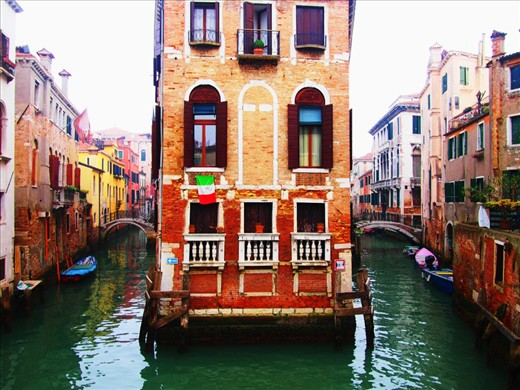 Venice, Italy.   The best place to be is lost, when the most beautiful city is shifting around you.