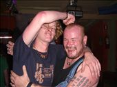 Max (a guy in my group) decided to arm wrestle the biggest guy in the bar. Luckly he was really nice!: by tom_lynar, Views[325]