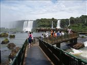 The walkway over water to view the falls up close: by tom_lynar, Views[315]