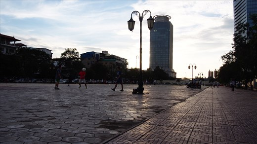 Freedom Park before being closed to prevent demonstration against the government