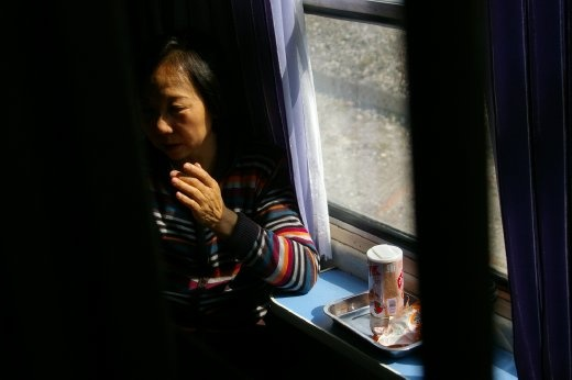 The train journey from Beijing to Kashgar is more than 60 hours in total. Many relocated Han Chinese must make the journey regardless of where their families are.
