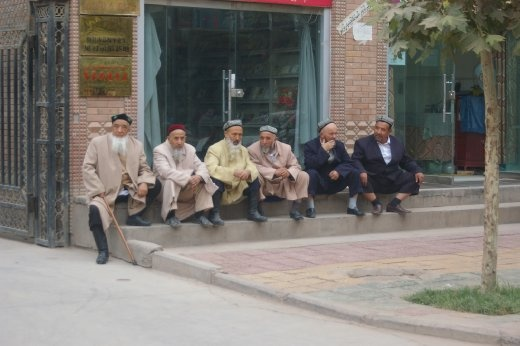 An almost awkward sense of loss surrounds the Uyghur Muslims in Kashgar. The central mosque in the heart of the old town now requires an expensive entrance fee.