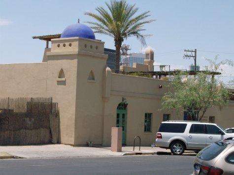 Historic fort Tucson