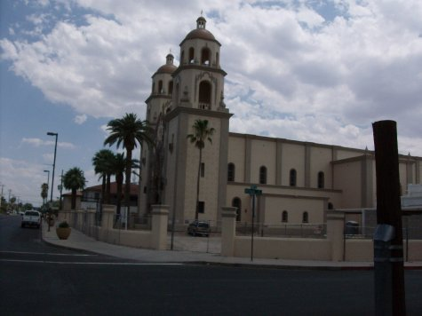 Church of some saint in Tucson very nice though