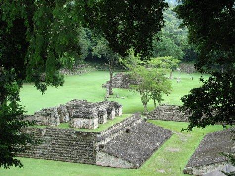 Main Plaza Copan ruinas