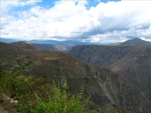 The amazing 200km winding road to Pasto