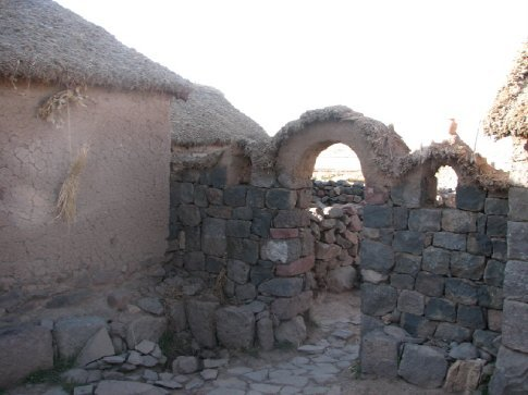 Typical Colla home near Puno