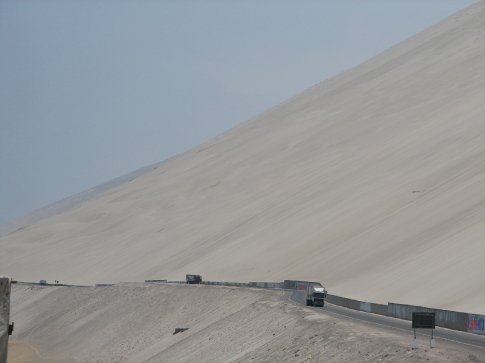 Incredible dunes on the way to Arequipa from Nasca