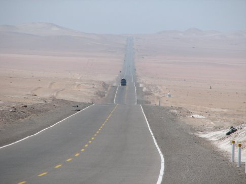 Road from Arequipa to Tacna