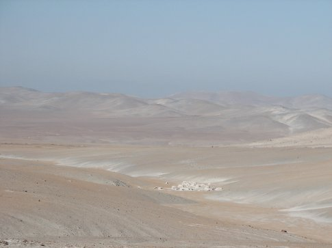 This is part of the driest place on earth