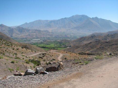 Road to Monte Patria