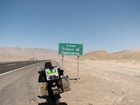 Crossing the Tropic of Capricorn i didnt miss this one