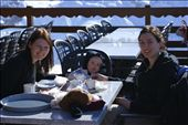 Lucy, Sophie and I at a resaurant at the top of Saulire: by tracy_r, Views[220]