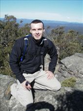 Blue Mountains - me on the