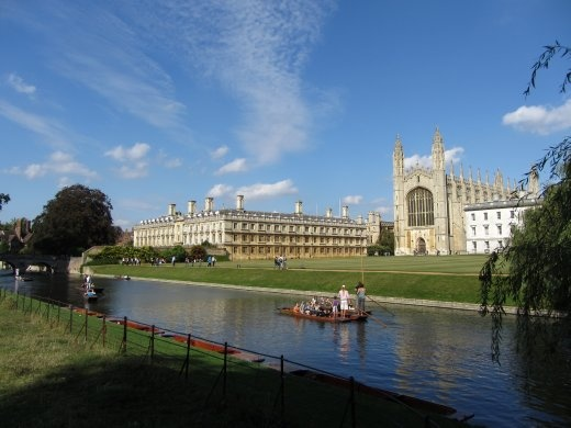 The Backs overlooking King's College