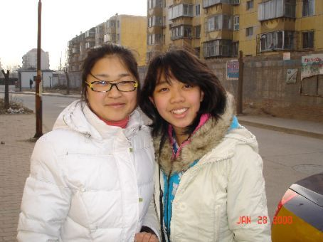Another picture with my agent who got me my first job in China.