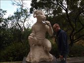 A super creepy statue on our walk over to town: by traveling_texan, Views[165]