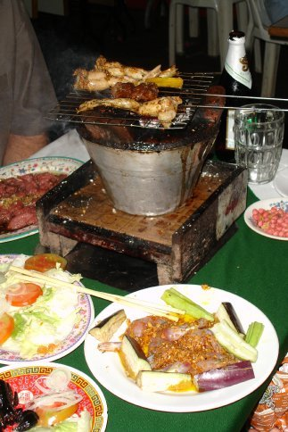 Barbeque your own meat at your table