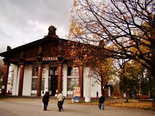 Another pavilion at VDNKH