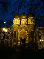 Pokhorovoskiy Cathedral in the park across Izmaylovo market. : by treefrog, Views[165]