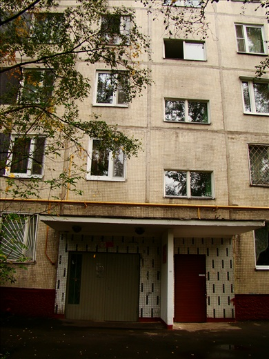 My apartment block in Moscow