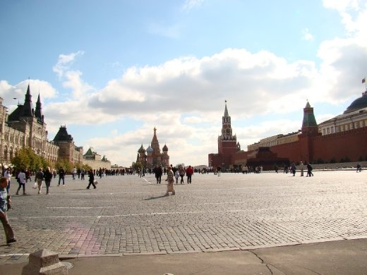 The Red Square!!! Was amazing to walk across it!!