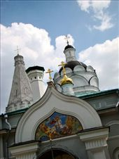 Church of the Ascension of the Lord which is right next to the Moscow river: by treefrog, Views[151]