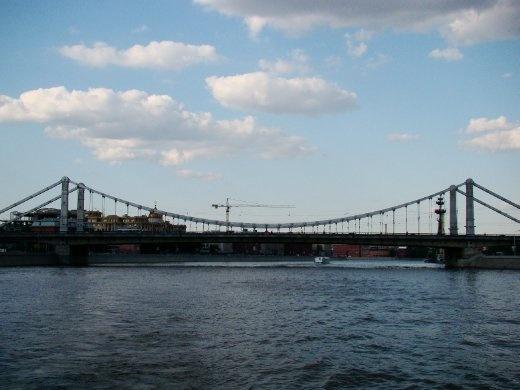 One of the many bridges we passed