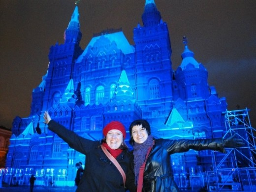 Me and Adel on the Red Square