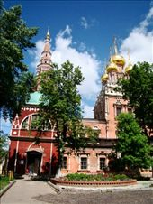 The Church of the Resurrection in Kadasi as you enter the grounds: by treefrog, Views[104]
