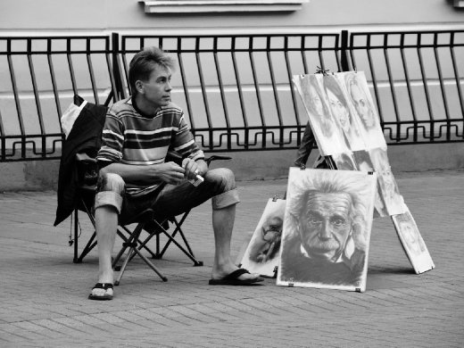 Another portrait artist