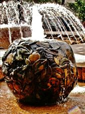 I love the bronze apples of the fountain: by treefrog, Views[72]
