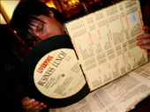 And the menu is actually on a record!!: by treefrog, Views[53]