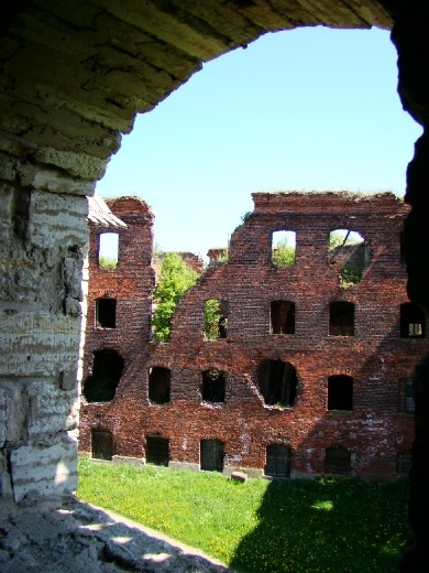 Inside the Shlisselburg fortress