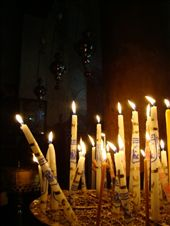 Candles at the entrance to the Grotto: by treefrog, Views[1632]