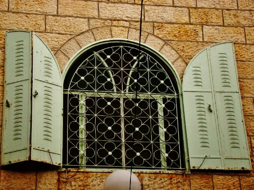 Stunning windows in The Old city