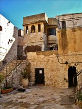 Going up the stairs next to the Last Supper room: by treefrog, Views[35]