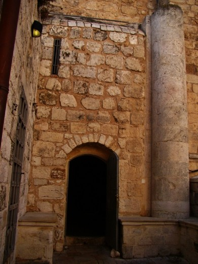 Entrance to The Last Supper Room