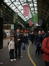 Borough markets, London. Yummy cheeses, wines and deli treats...and a nice atmosphere.: by tregenza_family, Views[201]