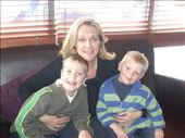 Boys take mummy out for birthday lunch at Pizza Express, Mermaid Quay: by tregenza_family, Views[207]