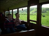 The little Reidol steam train runs from Aberystwyth to a small town called Devil's Bridge.: by tregenza_family, Views[133]